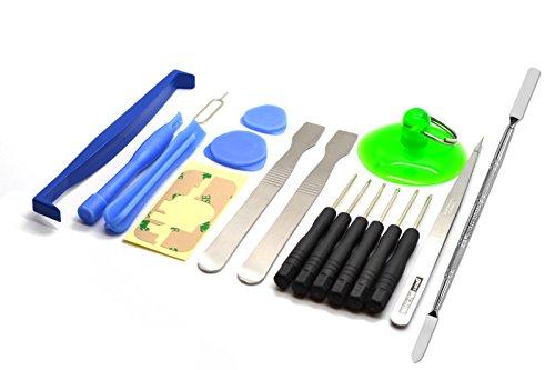 Preisvergleich Produktbild ACENIX Universal Reparaturset 18 in 1 Set Repair Werkzeug Kit Schraubenzieher für PC PDA Mobile Phones Tablet Laptop