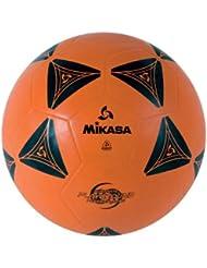 Mikasa Official Size 5 Premium Rubber Cover Soccer Kick Ball Orange Black S3030