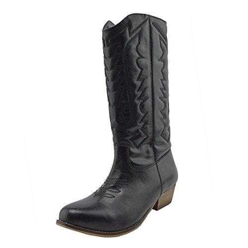 Kick Footwear Kick Footwear - Botas de Vaquero de Piel sintética Mujer