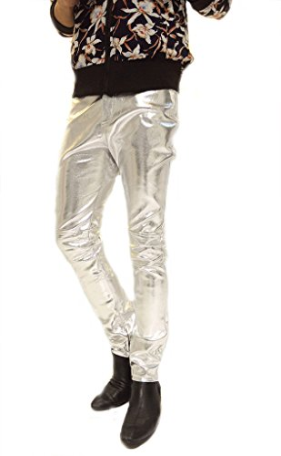 ouye-mens-sim-faux-leather-casual-pants-xx-large-silver