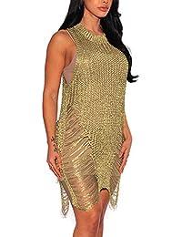 Robe Jupe Automne Hiver Casual Chic Vintage Luxe LéGer ÉLéGant Bon Marché  2018 Nouvelle Robe de soirée Sexy Moulante en Gaze… f9cc267d1c7e