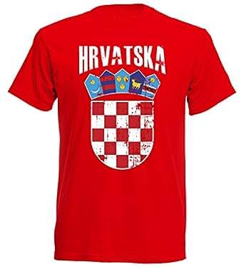 inkl.Druck Name und Nr Südkorea WM 2018 T-Shirt Trikot Look Fußball