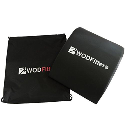 WODFitters - Trainingskissen für Bauchmuskeltraining - ideal für Core-Training Aller Bauchmuskeln - Gratis-Tragebeutel