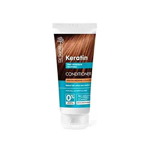 Dr. Santé Kératine Cheveux Collagène et arganine profonde Régénération 200 ml 0% sans paraben et huiles minérales