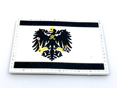 Preußen Preußische Flagge Paintball Softair PVC MORAL PATCH -