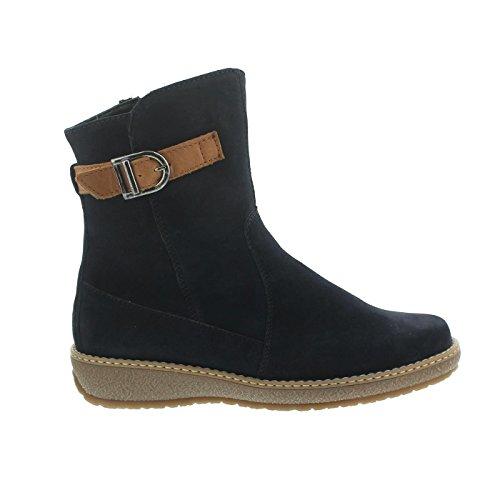 Waldläufer 533913-735-021 Hoja donna boots Deepblue / Cognac