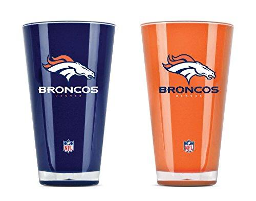 NFL Set von zwei 20Unze Tumbler, Denver Broncos