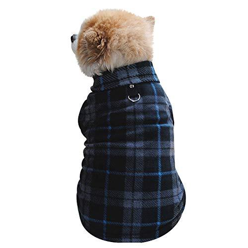EUZeo Haustier Hund Katze Villus Warm Vest Puppy Doggy Bekleidung Bekleidung Lovely Hundepullover Haustierbekleidung Casual Hündchen Kätzchen Clothing Westen Jacke