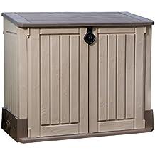 Keter 211166 - Caja para patio (plástico), color beige