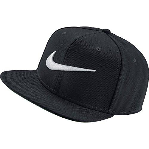 Nike Herren Swoosh Kappe Pro, black/pine green/white, One Size, 639534-011
