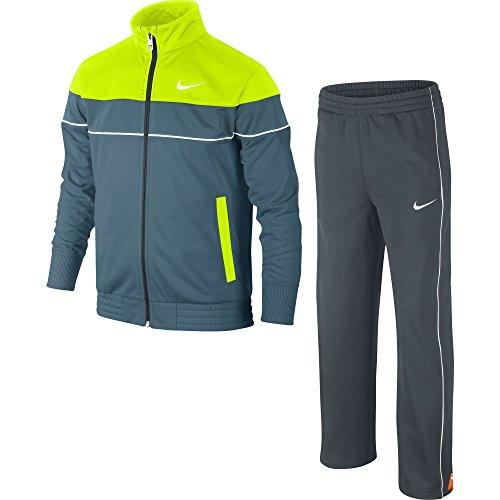 Nike Jungen Trainingsanzug T45 T Adjustable Warm Up, Riftblue/Dark Magnet Grey/Volt/White, XL, 619096-427 (Fussball Bestickt Anzug)