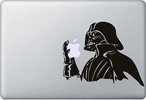 Gebraucht, Darth Vader Aufkleber MacBook Air Pro Sticker Decal gebraucht kaufen  Wird an jeden Ort in Deutschland