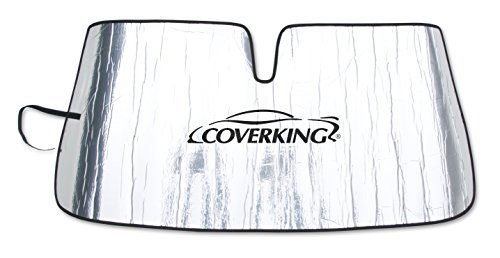 coverking-custom-sunshade-for-select-infiniti-qx56-models-reflective-mylar-foam-silver-by-coverking