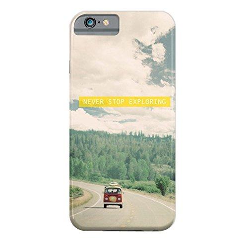 Cover iPhone SE, ZQ-Link Cover iPhone SE / 5 / 5S Silicone Case Molle di TPU Sottile Custodia per iPhone SE / 5 / 5S-magia furgone