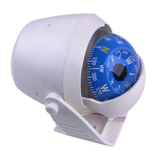 CITALL ABS LED-Leuchte Elektronischer Navigationskompass für Segelschiffe Auto
