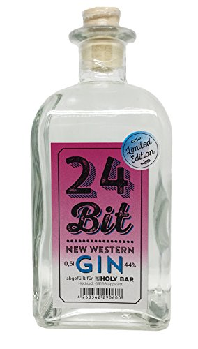 24 Bit Gin - Pink Edition - New Western Gin - *LIMITED EDITION* - 0,5l 44%vol.alc.