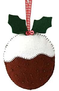 Corinne Lapierre feltro Christmas pudding cucito Craft mini kit