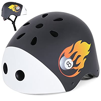 Infantastic Kids' Bicycle Bike Safety Helmet Adjustable Boys' Girls' Cycling Skating Scooter Children's Head Protection - Choice of Size/Design from Infantastic