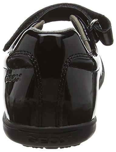 Geox J Gioia 2fit A, Ballerines Fille Noir (Black)