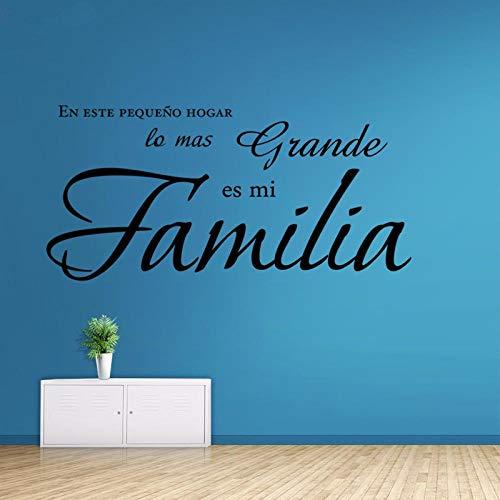 Donde Comprar Vinilos Frases Familia Español Tienda Online