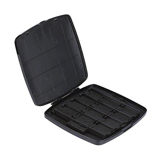 28 Bis 1 Hochwertige Patronenbox Für Switch Game Aufbewahrungsbox Mit 24 Game Card Slots Und 4 Micro SD Kartenhalter für Nintendo Switch (Kit Nintendo Ds Travel)