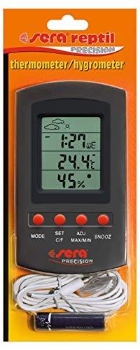Sera 32032Reptil Termómetro/higrómetro un Dispositivo Combinado sobre la duración de medición...