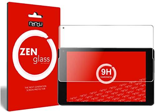 nandu I ZenGlass Flexible Glas-Folie für Medion P8514 Panzerfolie I Bildschirm-Schutzfolie 9H