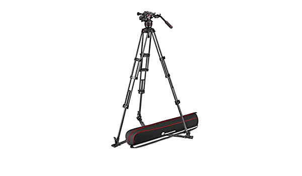Manfrotto Mvk608twingc Nitrotech 608 Fluid Videokopf Kamera
