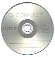 Q-Connect Dvd-R Cakebox (Pack of 25)