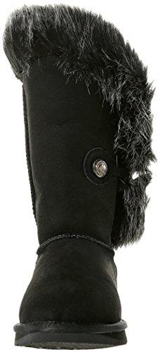 Australia Luxe Collective Damen Nordic Angel Short Kurzschaft Stiefel Schwarz (Black Faux Fur)