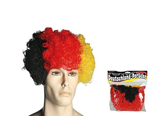 Preis am Stiel® Perücke Deutschlandflagge