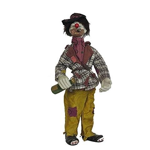 Clown En Porcelaine - Discount ethnique Clown en porcelaine h