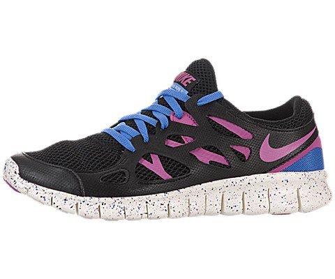 brand new 2c057 0e204 Nike Free Run 2 EXT Women Laufschuhe black-clear pink-distinct blue-summit