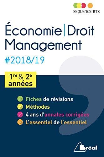 Economie-droit et management BTS tertiaires 1re et 2e années