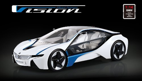 BMW i8 Vision Concept Car - RC ferngesteuertes original Modellauto inkl. Fernsteuerung