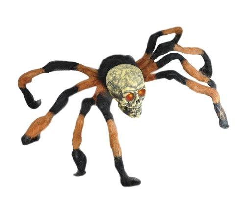 Großes Schädel Halloween-Spinnen