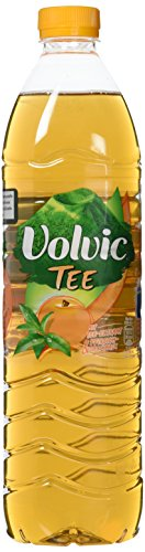 Volvic Erfrischungsgetränk Tee-Extrakt, 1er Pack, EINWEG (1 x 1.5 l) -