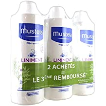 Mustela liniment dermo-protecteur lot de 3x 400ml