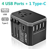Die besten Travel Adapters - LOETAD Reiseadapter Travel Adapter Universal Reisestecker mit 4 Bewertungen