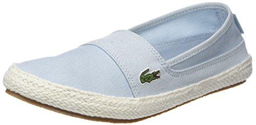 Lacoste Damen Marice 218 1 Caw Sneaker, Blau (Lt Blu/Blu 52c), 36 EU