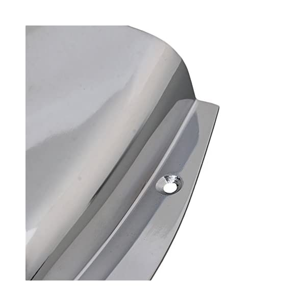 Acciaio inossidabile Cromato Tappi ponte Custodia per PB basso elettrico Parte di ricambio