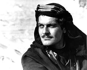 OMAR SHARIF AS SHERIF ALI IBN EL KHARISH FROM LAWRENCE OF ARABIA #1 - Photo cinématographique en noir et blanc- AFFICHE - 60x50cm