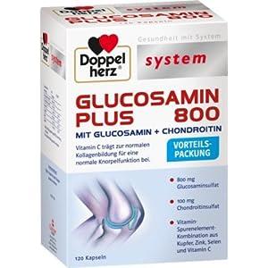 Doppelherz Glucosamin Plus 800 system Kapseln 120 stk