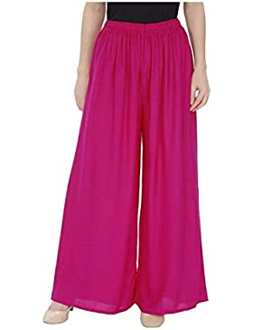 Indian Handicrfats Export Meoby Relaxed Women Pink Trousers