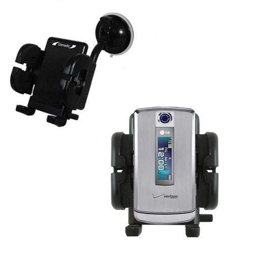 LG VX8700 Windschutzscheibenhalterung für KFZ / Auto - Cradle-Halter mit flexibler Saughalterung für Fahrzeuge