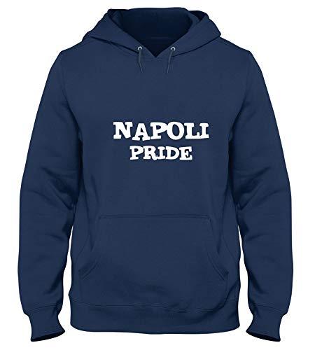 Speed Shirt Kapuzen-Sweatshirt fur Mann Blau Navy TSTEM0112 Napoli Pride