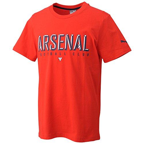 PUMA Herren T-Shirt Arsenal Fan Tee, High Risk Red, M, 749144 01