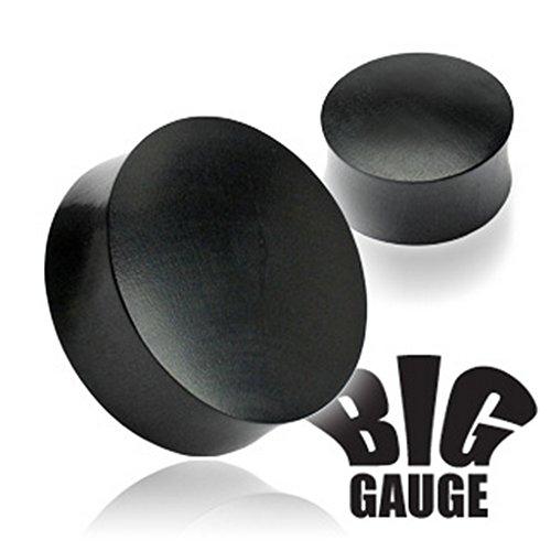 Piercing plug en bois organique Taille 22 mm