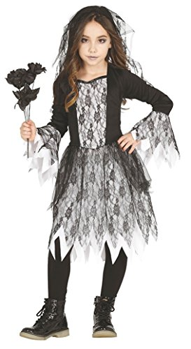 Guirca costume sposa cadavere zombie carnevale halloween bambina 8732_