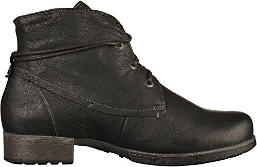 Think! Denk, Desert Boots Femme Noir (Sz/kombi 09)